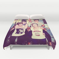5 seconds of summer Duvet Cover by Kikabarros