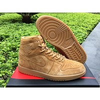 Air Jordan 1 Wheat Retro Size 40-46