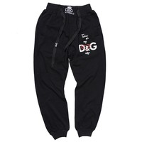 Dolce&Gabbana Women Men Fashion Casual Pants Trousers