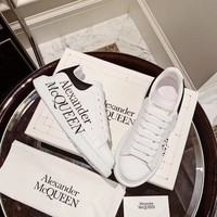 Alexander McQueen Women Casual Shoes Boots fashionable casual leather Women Heels Sandal Shoes