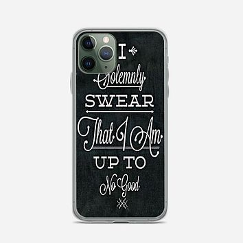 Harry Potter Pattern iPhone 11 Pro Max Case