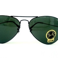 Cheap New Authentic Ray Ban RB3025 L2823 58mm Green Classic G-15 Lenses, Black Frame outlet