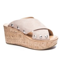 Oahu Wedge Sandal by Chinese Laundry