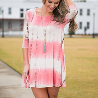 Adorable At Its Finesse Dress, Pink