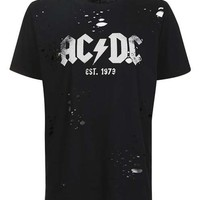 AC/DC Nibbled T-Shirt by And Finally