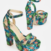 Barbey in Floral - Get great deals at JustFab
