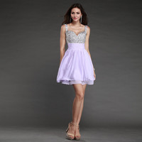 Sexy Homecoming Bridesmaid Dresses Gowns Party Formal Prom Evening Short Dress