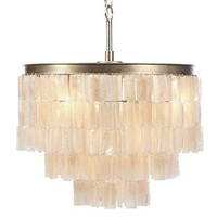 Capiz Chandelier   Quinn Collection Dining Room Inspiration   Dining Room Inspiration   Inspiration   Z Gallerie