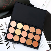 Free shipping 15 Color Professional Makeup Facial Concealer Camouflage Palette Cosmetics Hot