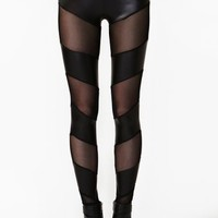 Razor Mesh Leggings