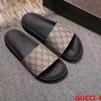 Gucci: Casual Fashion Women Man Sandal Slipper Shoes