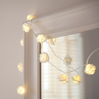 Roses Rosebud Fairy Boho LED String Lights