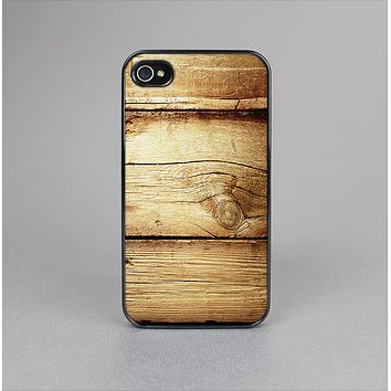 The Old Bolted Wooden Planks Skin-Sert Case for the Apple iPhone 4-4s