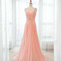 Brilliant A-line Floor-Length Prom dress from Cute Dresses