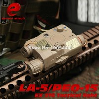 Element Softair LA-15 PEQ 15 IR Lamp Tactical Flashlight LED Laser IR Weapons For Airsoft Tatical Waffen Military Hunting Light