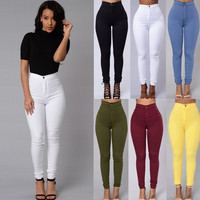 Vintage 6 colours Denim Pants