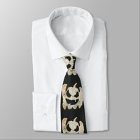 Creepy Halloween Pumpkin Tie