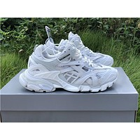 Balenciaga Trainers Track 2 In White Sneakers
