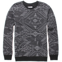 On The Byas Wally Printed Crew Fleece at PacSun.com