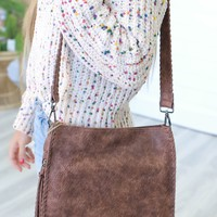 Nothing Like This Crossbody Bag - Chocolate