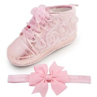 Baby Shoes Toddler Rose Soft