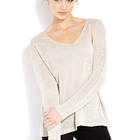 FOREVER 21 Favorite Open-Knit Sweater