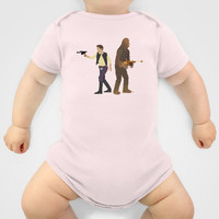 Han & Chewie Baby Clothes by DWatson