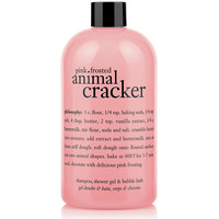pink frosted animal cracker | shampoo, shower gel & bubble bath | philosophy