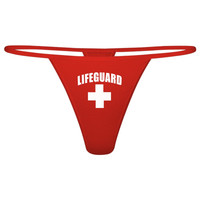 Lifeguard Thong