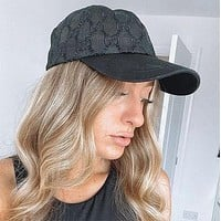 GG Embroidery peaked cap