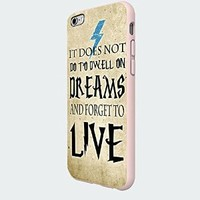 Harry Potter Dreams Quote Custom Case for Iphone 5/5s/6/6 Plus (White iPhone 6)