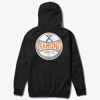 Diamond Supply Co. - Grand Slam Zip Hoodie - Black