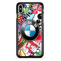 Bmw Jdm Sticker Bomb iPhone X Case