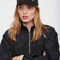 Free People Late Bloomer Embroidered Baseball Hat