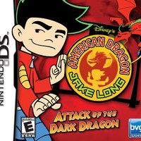 American Dragon Jake Long Attack of the Dark Dragon - Nintendo DS (Game Only)