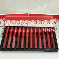 Kylie 12 Colors Cute Cosmetic Lips Set [11617149135]