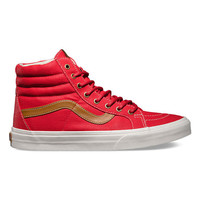 Vans Coated Canvas Sk8-Hi Reissue Mens Shoes Formula One  In Sizes