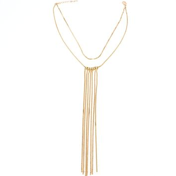 CELINE -  Waterfall Choker Necklace