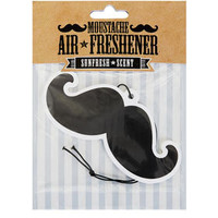 Moustache Air Freshner - Gifts & Novelty  - Bags & Accessories