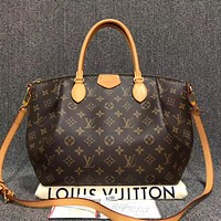 LV Fashion Female Printed Shopping Bags Hot Selling Single Shoulder Bags with High Quality
