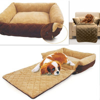 Dog/Cat Bed Soft Warm Pet Beds Cushion Puppy Sofa Couch Mat Kennel Pad Furniture = 1930049604