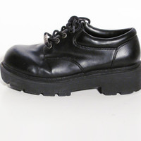 90s Chunky Loafers - Enid Ghostworld - Mudd Shoes - Sze 7.5