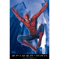 SPIDER-MAN POSTER Jumping Spiderman NEW