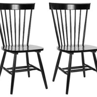 One Kings Lane - The Chic Boutique - Black Parker Shinji Chairs, Pair