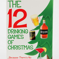 12 Days Of Christmas Drinking Game - Urban Outfitters