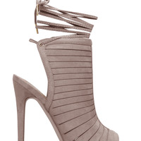 PALOMA OPEN TOE HEELED SANDAL