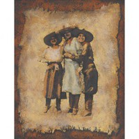 Windsor Vanguard Wild West Cowgirls Canvas - VC8038 - Canvas Art - Wall Art & Coverings - Decor