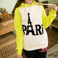 Magic Pieces Embroidered Hooded Sweater Letters