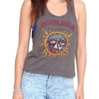 Sublime Sun Crop Girls Tank Top