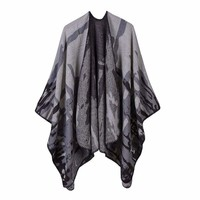 Winter Ponchos and Capes Scarf